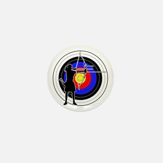 Archery & target 02 Mini Button