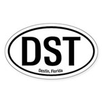 Destin, Florida Oval Sticker