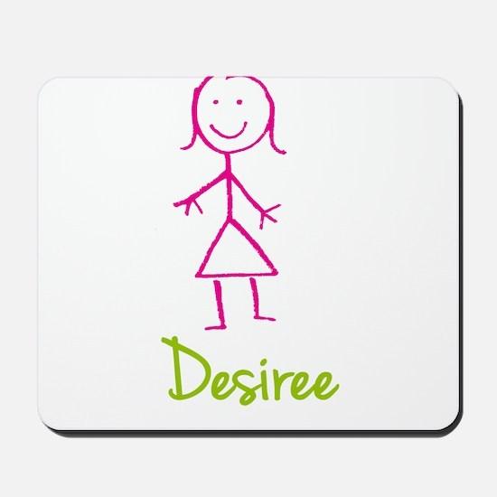 Desiree-cute-stick-girl.png Mousepad