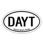 Daytona Beach, Florida Oval Sticker