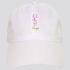 Ginger-cute-stick-girl Cap