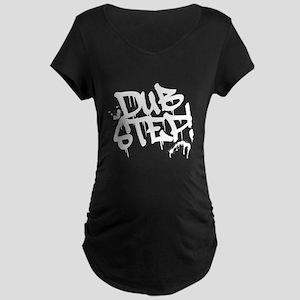 Dubstep Tag Maternity Dark T-Shirt