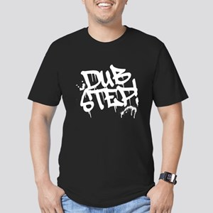 Dubstep Tag Men's Fitted T-Shirt (dark)