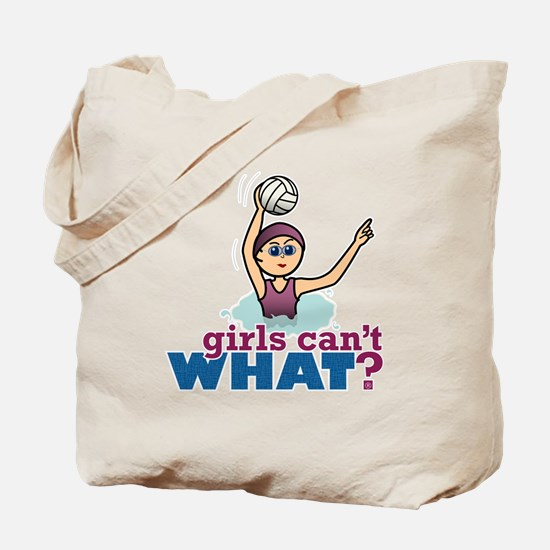 Water Polo Girl Tote Bag