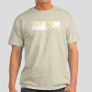 Autumn Bride Ash Grey T-Shirt
