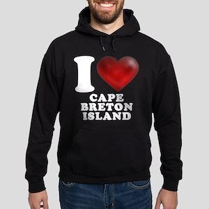 I Heart Cape Breton Island Hoodie (dark)
