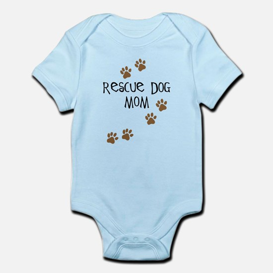 Rescue Dog Mom Body Suit