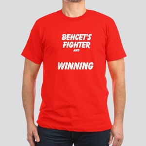 BD FIGHTER AND WINNING Men's Fitted T-Shirt (dark)