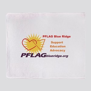 PFLAG Blue Ridge Throw Blanket
