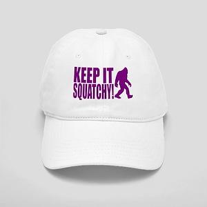 Purple KEEP IT SQUATCHY! Cap