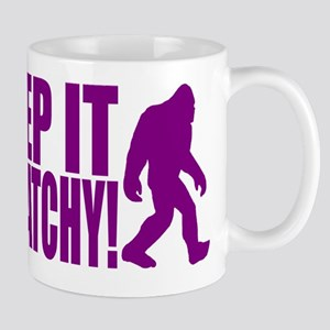 Purple KEEP IT SQUATCHY! Mug