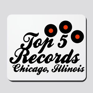 Top 5 Records b Mousepad