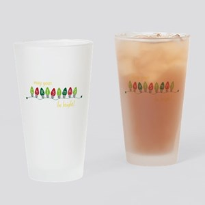 Be Bright Drinking Glass
