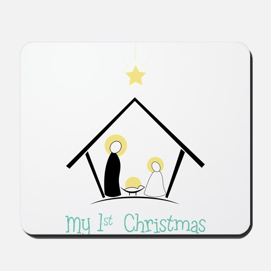My 1st Christmas Mousepad