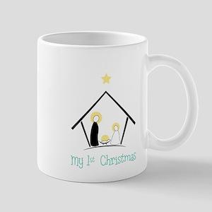 My 1st Christmas Mug