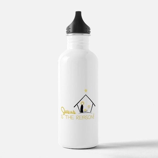 Jesus Is The Reason Water Bottle