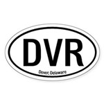 Dover, Delaware Oval Sticker