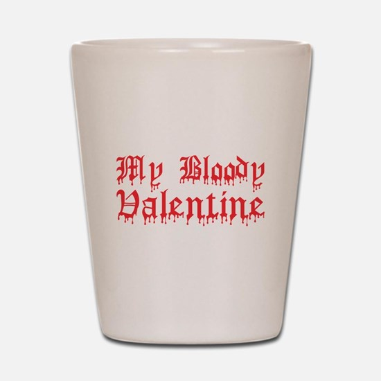 My Bloody Valentine Shot Glass