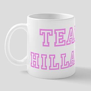 Pink team Hillary Mug