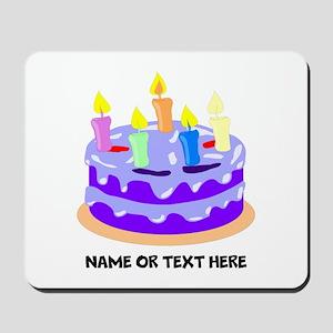 Birthday Party Cake Mousepad