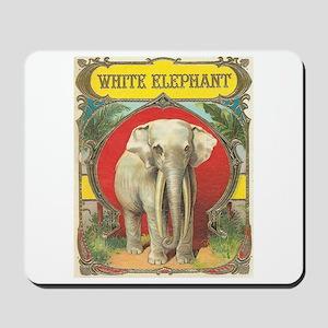 White Elephant Mousepad