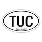 Tucson, Arizona Oval Sticker