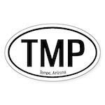 Tempe, Arizona Oval Sticker