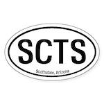 Scottsdale, Arizona Oval Sticker