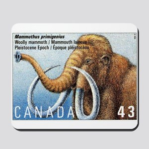 1994 Canada Woolly Mammoth Postage Stamp Mousepad