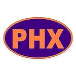 Phoenix, Arizona Oval Sticker