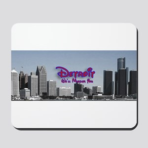 Welcome to Detroit Mousepad
