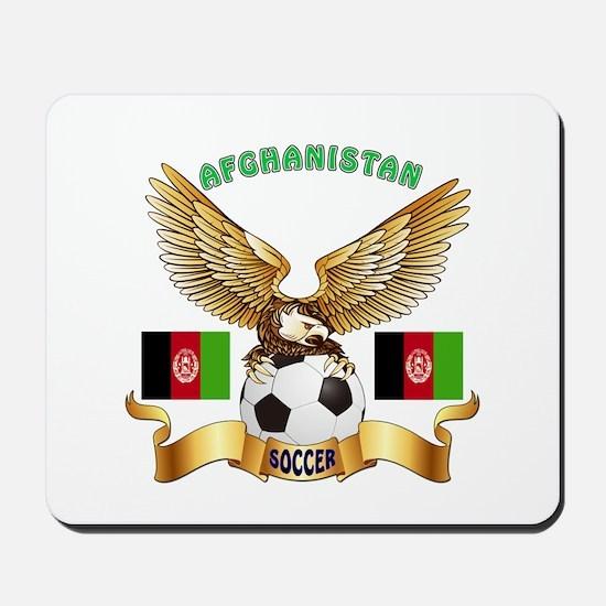 Afghanistan Football Design Mousepad