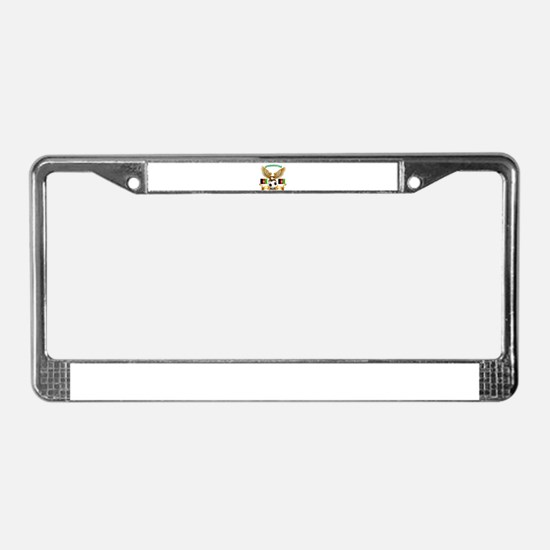 Afghanistan Football Design License Plate Frame