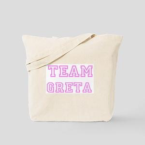 Pink team Greta Tote Bag