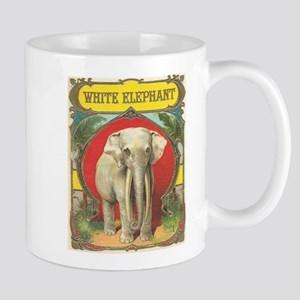 White Elephant Mugs