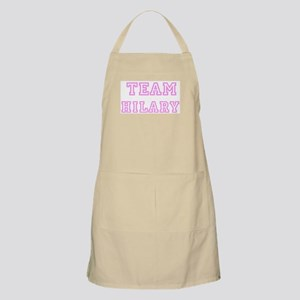 Pink team Hilary BBQ Apron
