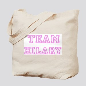 Pink team Hilary Tote Bag