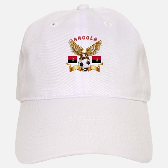 Angola Football Design Baseball Baseball Cap