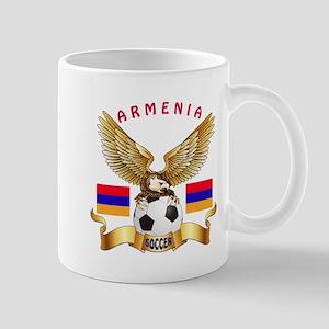 Armenia Football Design Mug