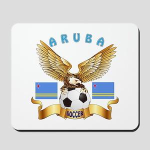 Aruba Football Design Mousepad