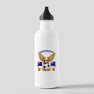Australia Football Design Stainless Water Bottle 1