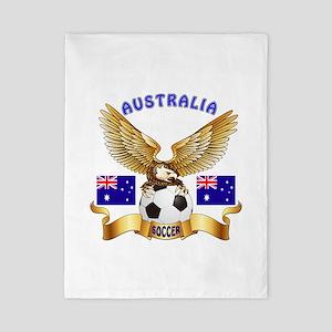 Australia Football Design Twin Duvet