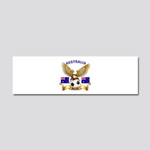 Australia Football Design Car Magnet 10 x 3