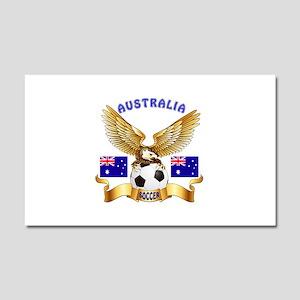 Australia Football Design Car Magnet 20 x 12