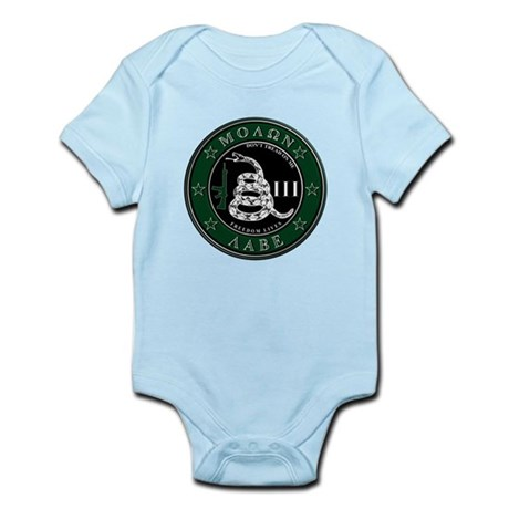 Molon Labe Infant Bodysuit