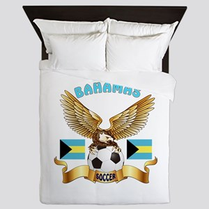 Bahamas Football Design Queen Duvet