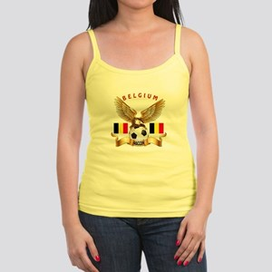 Belgium Football Design Jr. Spaghetti Tank