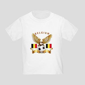 Belgium Football Design Toddler T-Shirt