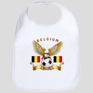 Belgium Football Design Bib