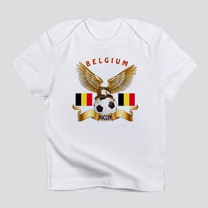 Belgium Football Design Infant T-Shirt